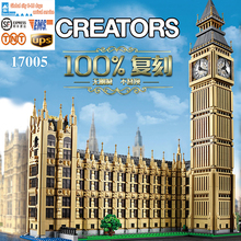 LEPIN 17005 4163 stks Big Ben Elizabeth Tower Model Building Kits Minifiguren Baksteen Bricks Speelgoed Compatibel legeod 10253
