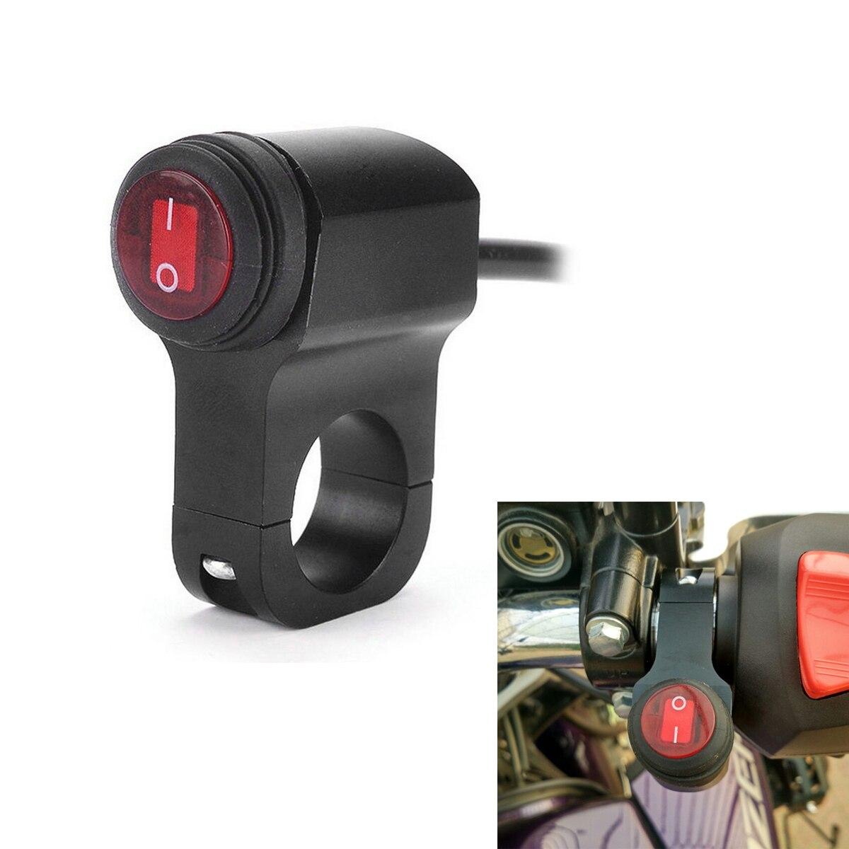 headlight switch motorcycle free ford logo aliexpress buy 12v 16a waterproof cnc