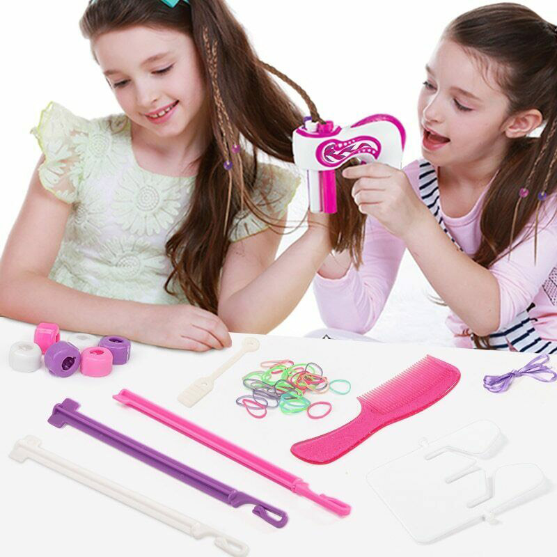 Hair Braided Artifact Automatic Easy Braids Playset DIY Electric 3 Twist Hair Braided Kit  YJS Dropship