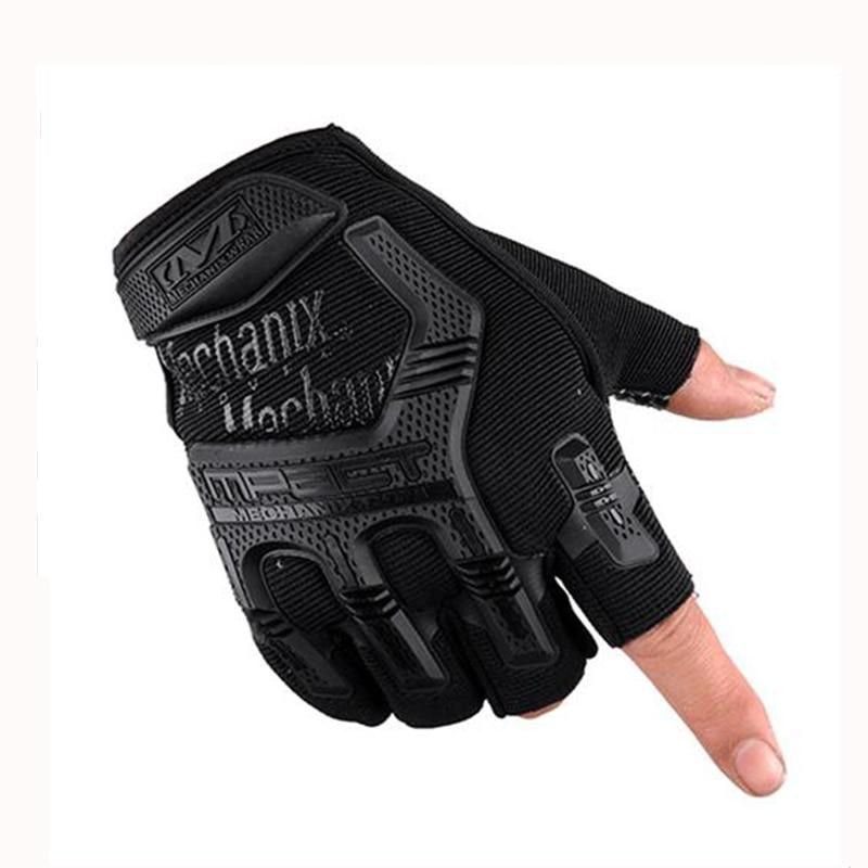 Avcılık yarım parmak eldiven spor açık koruyucu eldiven Thunderbolt komando taktikleri özgürlük askerler özel ekipman