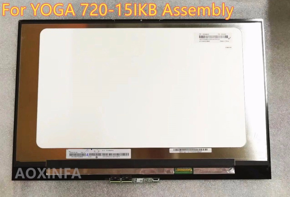 New original For Lenovo YOGA 720-15IKB YOGA 720 15 screen assembly N156HCE-EN1 1920*1080 LCD screen new original for lenovo thinkpad yoga 260 bottom base cover lower case black 00ht414 01ax900