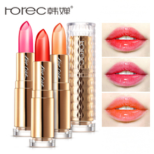 ROREC Long-lasting Matte Lipsticks Waterproof  Moisturizer Lip Balm Jelly Lipstick Transparent Color Changing Lipstick Makeup rorec long lasting matte lipsticks waterproof moisturizer lip balm jelly lipstick transparent color changing lipstick makeup