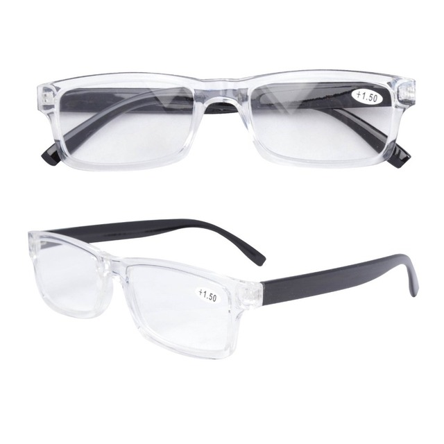 8fabda2e9839 FR003 Fashion Quality Plastic Frame Reading Glasses For Men and Women With  Case. 1 order