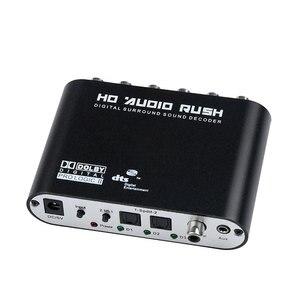 Image 4 - Caldecott chaud 5.1 vitesse Audio DTS AC 3 6CH convertisseur Audio numérique LPCM à 5.1 sortie analogique 2.1 décodeur Audio numérique pour DVD PC
