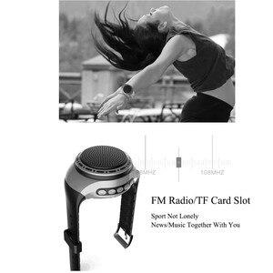 Image 4 - U6 Bunte Lauf LED Kühlen Armbanduhr Buetooth Lautsprecher Sport Musik FM Radio Unterstützung 8 GB 16 GB TF Karte
