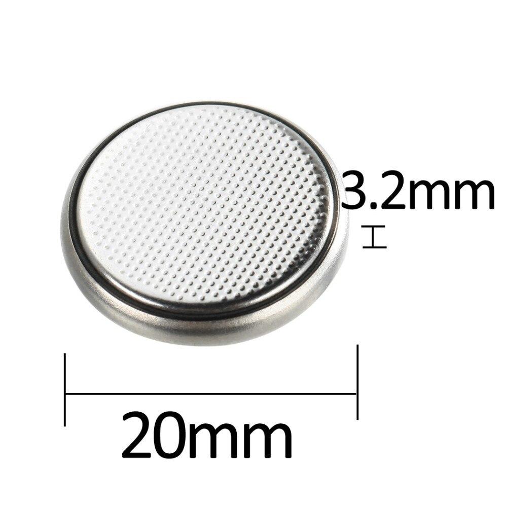 10pk CR2032 Lithium Button Cell Battery 2