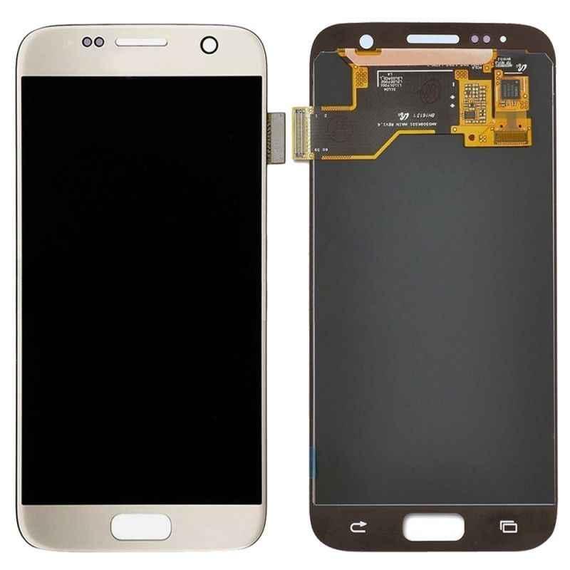 Amoled para SAMSUNG GALAXY S7 G930A G930F SM-G930F pantalla LCD de pantalla táctil digitalizador Asamblea reemplazo para SAMSUNG S7 LCD