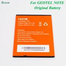 Мобильный телефон Батарея для GEOTEL Примечание, 3200 mAh Новый Резервное копирование замена батарей для GEOTEL Примечание умный телефон литий-ионный Батарея