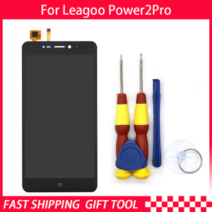 Image 2 - 100% Original Leagoo Power 2 pro LCD Display + Touch Screen Assembly ForLeagoo Power 2 pro+ Tools+3M Adhesive