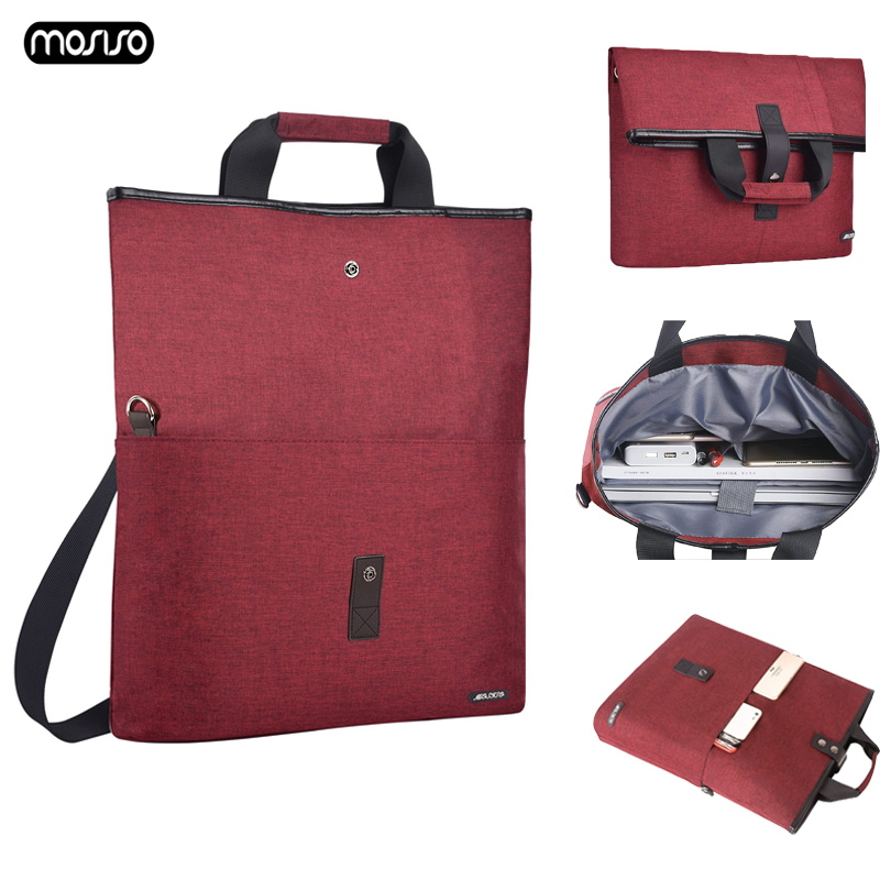 MOSISO Large Capacity Laptop Bag for Macbook Air Pro Notebook Bags MacBook 13 Case Dell HP Acer Shoulder Handbag