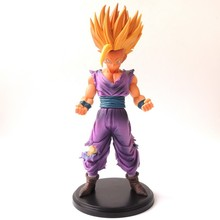 New 23cm PVC Anime Dragon Ball Z Action Figures Master Stars Piece The Son Gohan Super Saiyan dragonball z figurine children toy