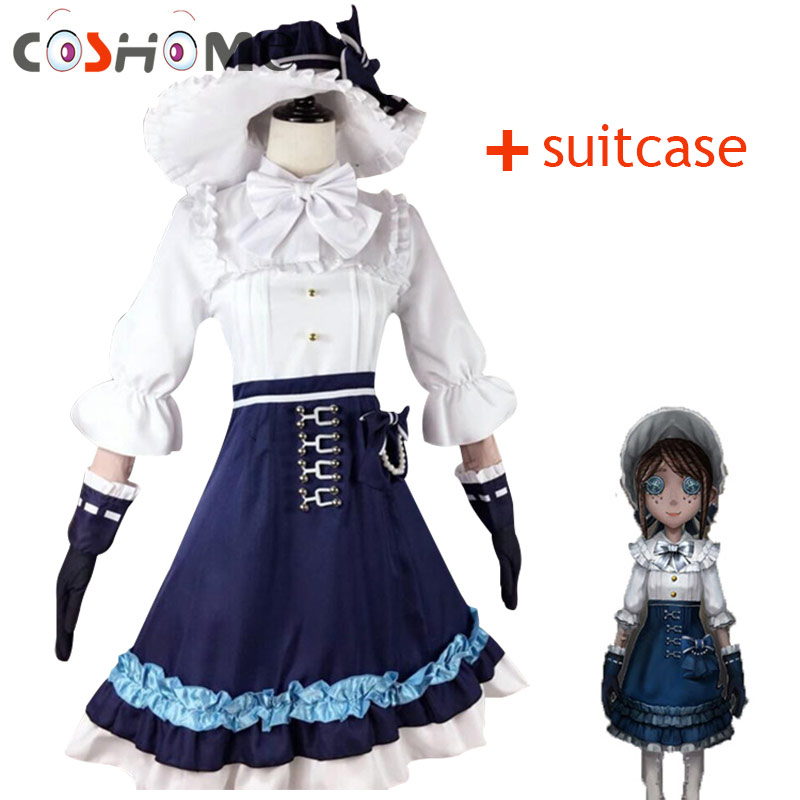 Coshome Game Identity V Cosplay Costume Gardener Emma Woods Boudoir Dream Cosplay Halloween Carnival Party Cosplay Costumes