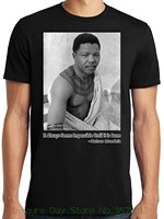 T Shirt 100 Cotton Libertees Big And Tall King Size Nelson Mandela Photo And Quote T