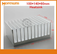 Fast Free Ship High Power Radiator 100*140*60mm Heat Sink Chip for IC LED Power Transistor
