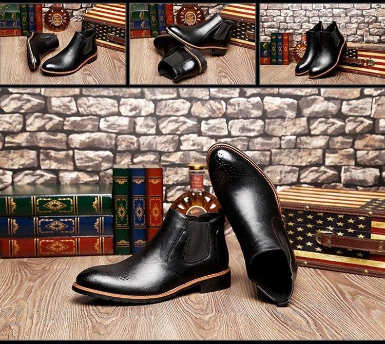 oxford brogue wingtip tornozelo botas chukka sapatos tamanho europeu