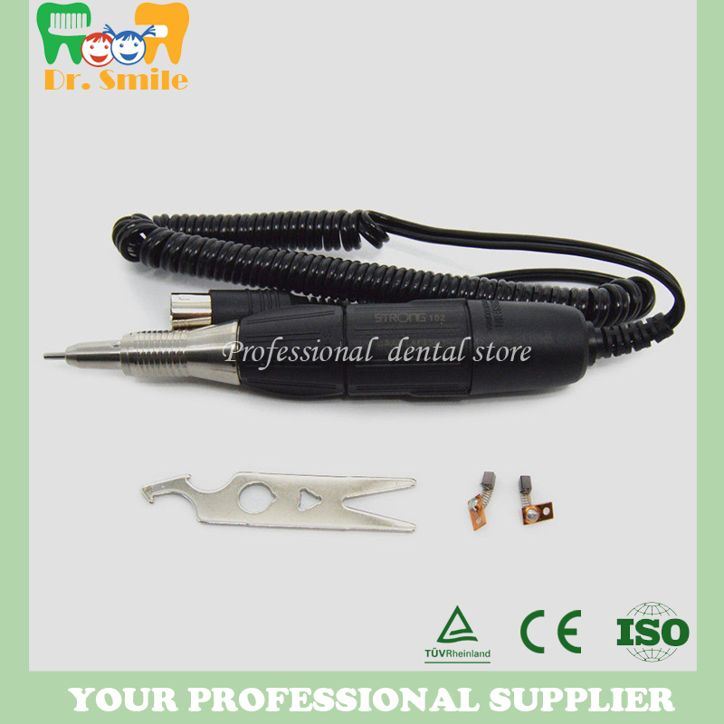купить Dental Lab 35000rpm Electric Micromotor 102 handpiece for 90 204 Motor Carving for SAEYANG онлайн