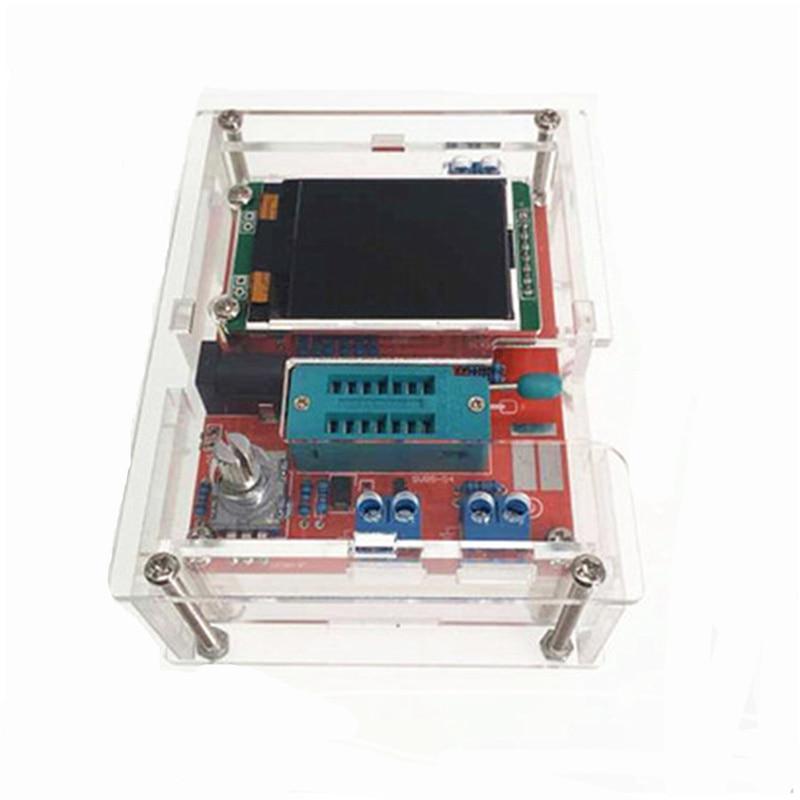 2016 DIY KITS ATMEAG328P M328 Transistor Tester LCR Diode Capacitance ESR meter PWM Square wave Signal Generator with case2016 DIY KITS ATMEAG328P M328 Transistor Tester LCR Diode Capacitance ESR meter PWM Square wave Signal Generator with case