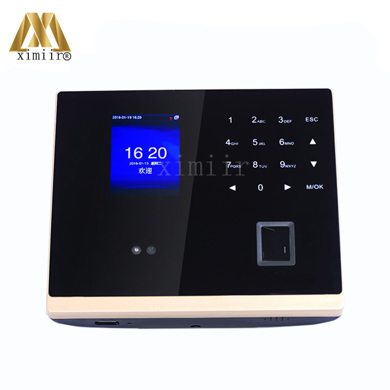 Multi-model Face Recognition Employees Time Recorder GM500 Face + Fingerprin Time Attendance And Access Control With Free SDK