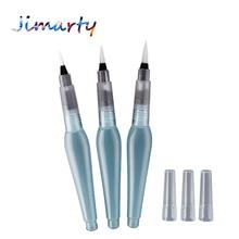 Large Superior paint brush lms Sakura Pentel Waterbrush Water Tank Calligraphy Brush Pen Watercolor AHB035