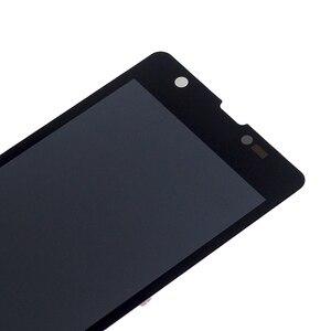 """Image 4 - 4.55 """"AAA M36h C5502 C5503 monitor LCD de Ecrã para Sony Xperia ZR componente de peças de reparo do digitador da tela de toque do telefone"""