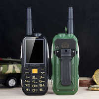 Mafam M2+ Rugged Mobile Phone With Antenna Good Signal UHF Walkie Talkie 1.5W Power Bank Torch Intercom Feature Cellphone