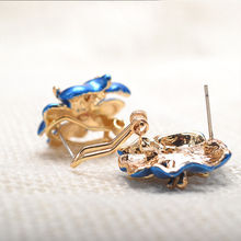 Korean Starfish Flower Stud Earrings