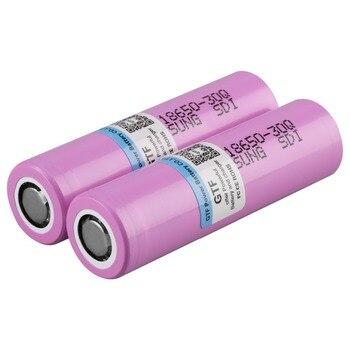 GTF 100% 3000mah 3.7V 18650 Battery for Samsung INR INR18650 30Q 20A Rechargeable Lithium E-cigarate Flashligh