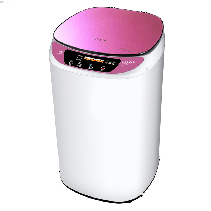 Skilled 5 Kg  Full-automatic Washing Machine Domestic Small Mini Infants Dormitory Apartment  Mini Washer Machine