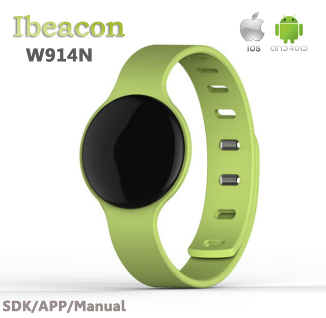 2016 Newest NRF51822 chip set high quality beacon wristband bluetooth 4.0 ibeacon module(battery Include)