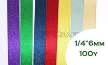 100Yards/roll Thread Gold Ribbon