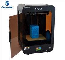 Createbot МАКС настольных impresora 3d Двойной экструдер 3d принтер 250*280*400 мм размер Печати imprimante 3d металла рамка 3d принтеры