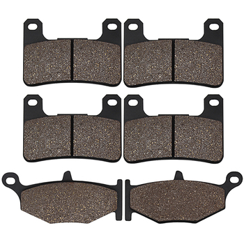 Cyleto Front and Rear Brake Pads for Suzuki GSXR750 / GSXR600 06-10 GSXR1000 GSXR 1000 07-10 GSX1300R Hayabusa 1300 08-12 image