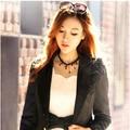 Preto goth borla colar de pingente/kpop elegante acessórios do casamento por atacado/gros collier femme/neckless/colar/collana/bijoux