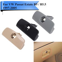 Car Glove Box Cover Handle With Keyhole Lock Lid Latch For VW Passat B5 B5 5