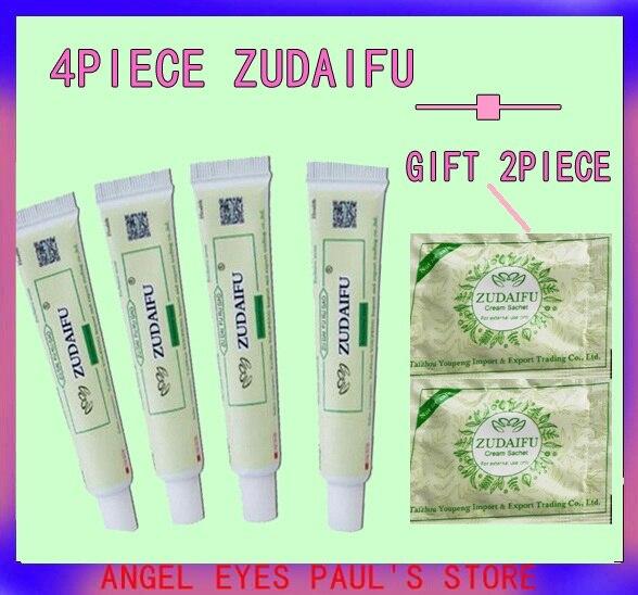 4pcs zudaifu crema per il corpo senza scatola di vendita al dettaglio delle donne degli uomini di prodotto per la cura della pelle alleviare la Psoriasi Dermatite Eczema Prurito effetto YDQ 1