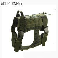 Tactical Pet Dog Clothes Vest Harness Nylon Dog T shirt Outdoor Military Training for Pets Universal