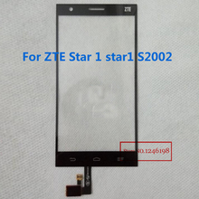 5.0inch Black White TOP Quality Outer Glass Touch Screen Digitizer For ZTE Star 1 star1 S2002 phone Parts Repair Replacement