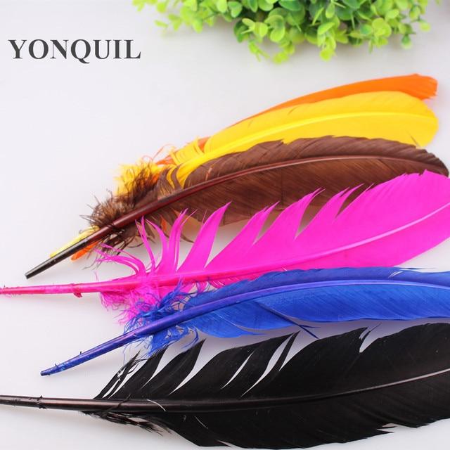 Aliexpress.com : Buy 100PCS/Lot TURKEY QUILLS 20 30cm Dyed