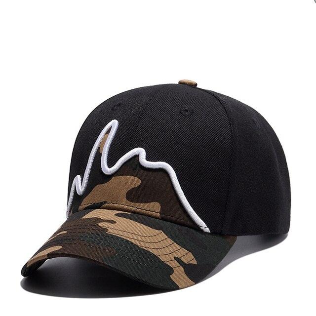 7bf13e273ef sales New 2017 Fashion Cotton Brand high quality Caps Cool print Camouflage  Baseball Cap boy Hip-hop Hats For Men Women summer