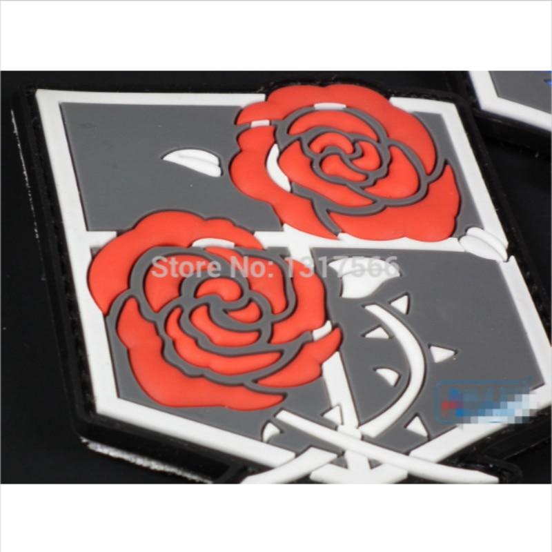 1X Shingeki No Kyojin Attack On Titan Animation Version Color 3D Hook Patch