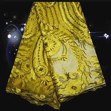 (5yards/lot) SPN75,free shipping African french lace fabric ON SALE