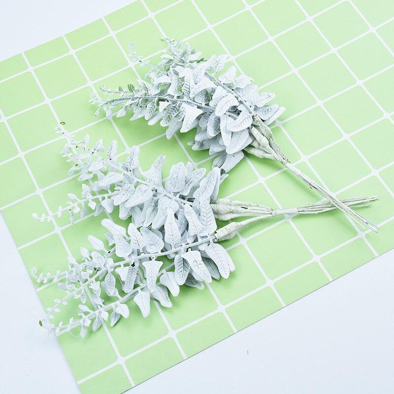 6pcs Fake Tree Christmas Decorations For Home Wedding Artificial Plants Diy Garland Bride Brooch Scrapbooking Cheap Silk Flowers