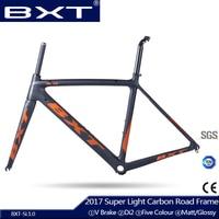 Carbon Road Bike Frame 2017 BXT Di2 And Mechanical 500 530 550mm Super Light Carbon Road