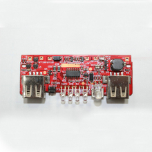 USB Energy Financial institution Charger Module Charging Circuit Board Step Up Enhance Energy Provide Module Twin USB Output With Cost indicator
