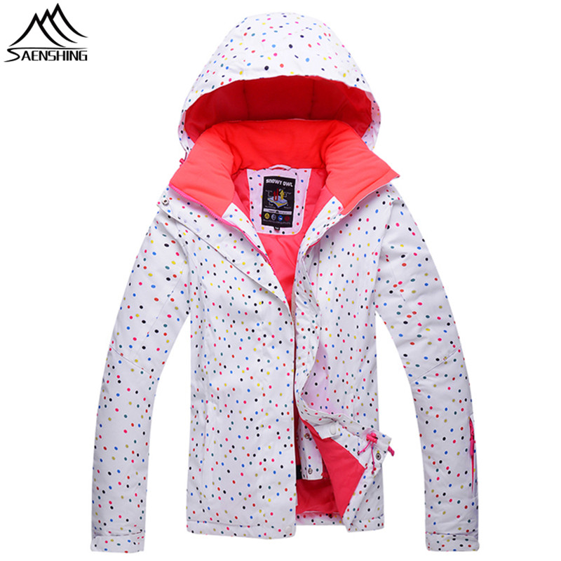 Saenshing Winter ski jacket women Cotton Pad Warm Waterproof snowboard snow jacket female outdoor Motor skiing coat ski clothing hot sale women ladies snowboard jacket waterproof breathable ski jacket female winter snow coat sport motorcycle anorak clothes