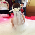 Flower Bridal Veil Luxury Bohemian Tulle Wedding Veil Bridal Hair Accessories voile mariage birdcage veil  Fashion Z811