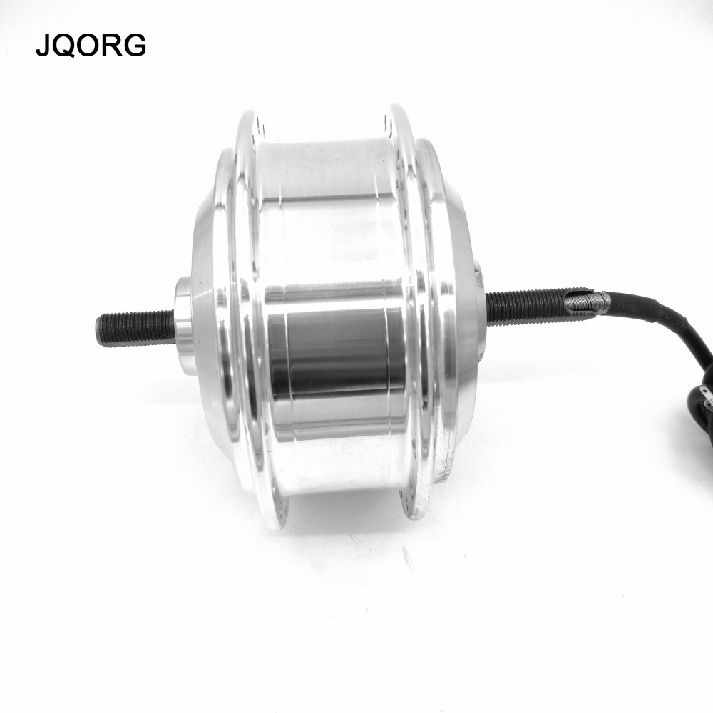 ФОТО JQORG E-bike 36V 250W Brushless Geared High Speed DC Hub Motor For Electric Bicycle Front Wheel Driving 25km/h 26 inch Motor