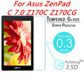 "For ASUS ZenPad C 7"" Z170C Z170CG 0.3mm 9H 2.5D Explosion-Proof Toughened Tempered Glass LCD Film Arc HD Screen Protector Cover"