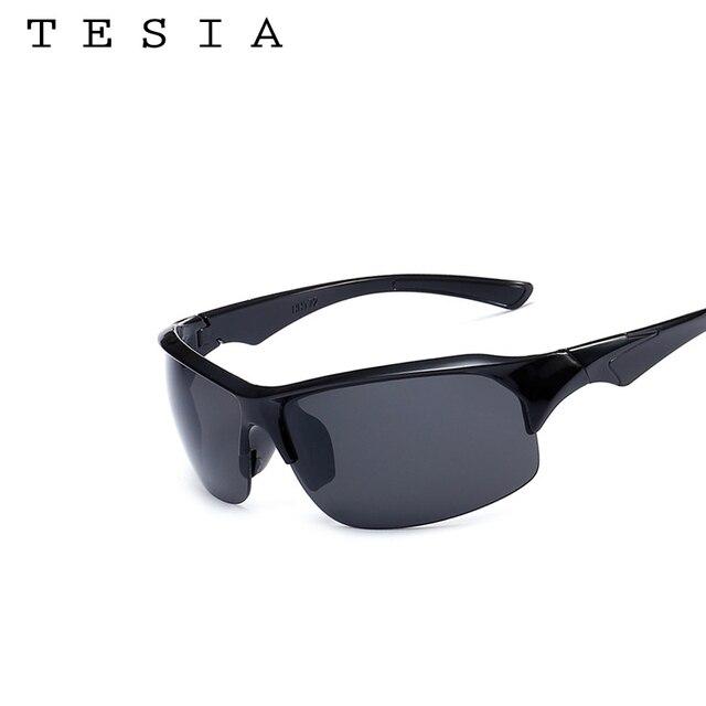 3fdc0c8001f7 Olahraga Sunglasses Pria Kacamata Night Vision Laki-laki Mendaki Gunung  Kacamata Matahari Kacamata Merampingkan setengah