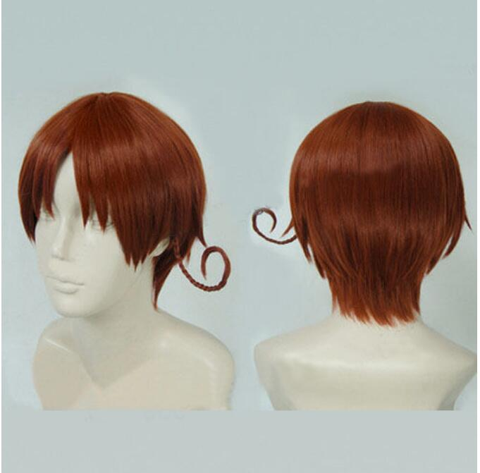 Jewelry Wig APH Axis Powers Hetalia South North Italy Wig Feliciano Vargas Cosplay Wig Free Shipping(China)